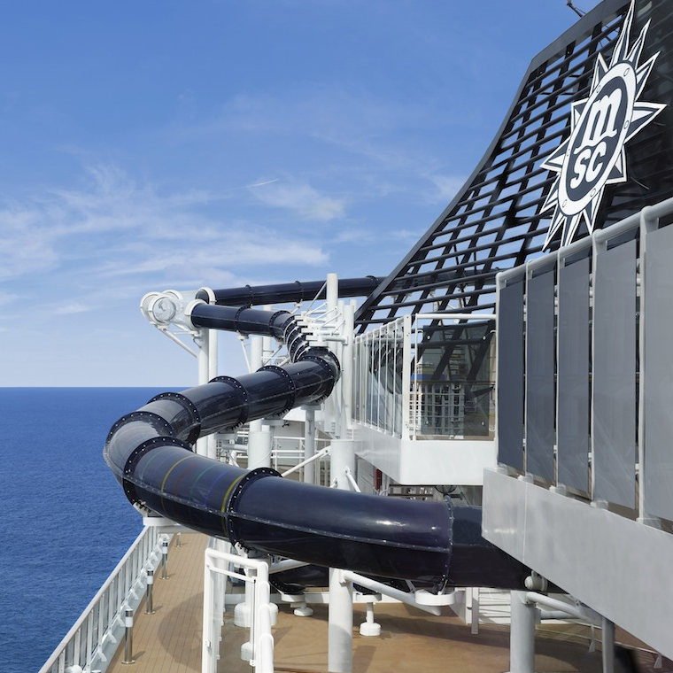 Cruise-informatie.nl Vertigo glijbaan